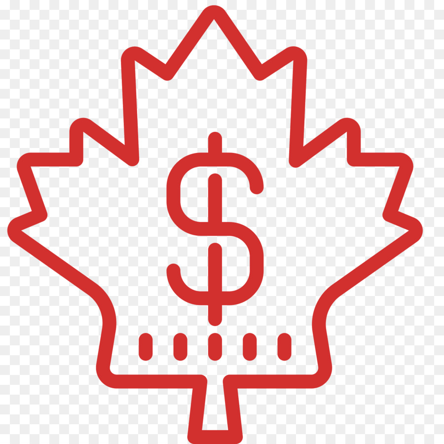 Maple Leaf Computer Icons Canada Dollar Sign Png Download 1600