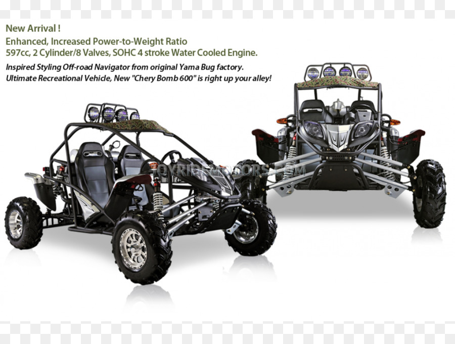 Car Dune buggy Motorcycle Go-kart Scooter - car png download - 1100 ...