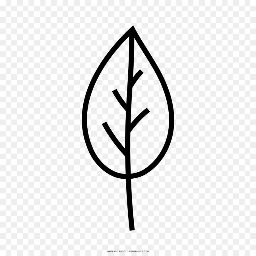 Hoja del Árbol de Dibujo para Colorear libro - Hoja Formatos De ...