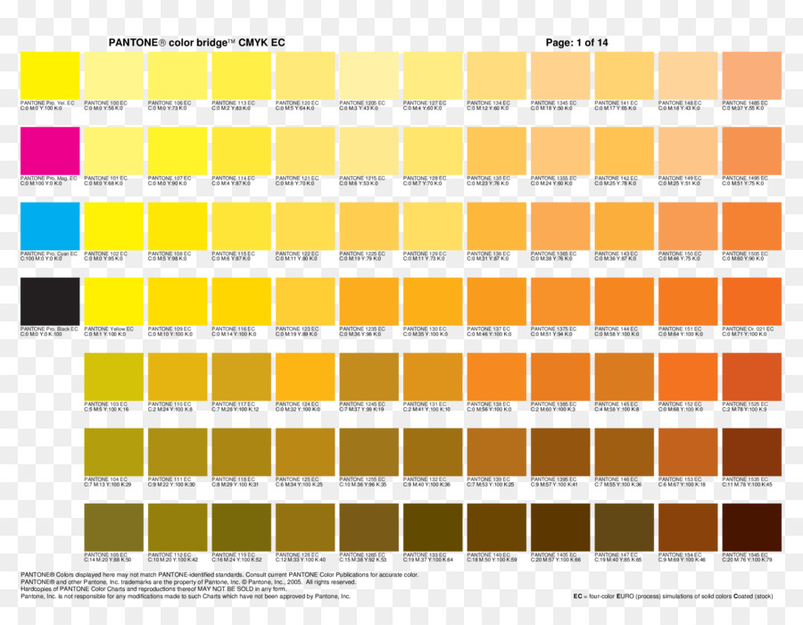 Cmyk Color Model Pantone Color Chart Graphic Design Others Png