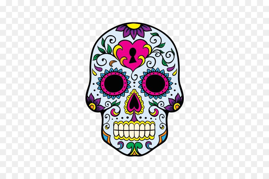 Calavera Día de Muertos Cráneo cocina Mexicana Clip art - bien png ...