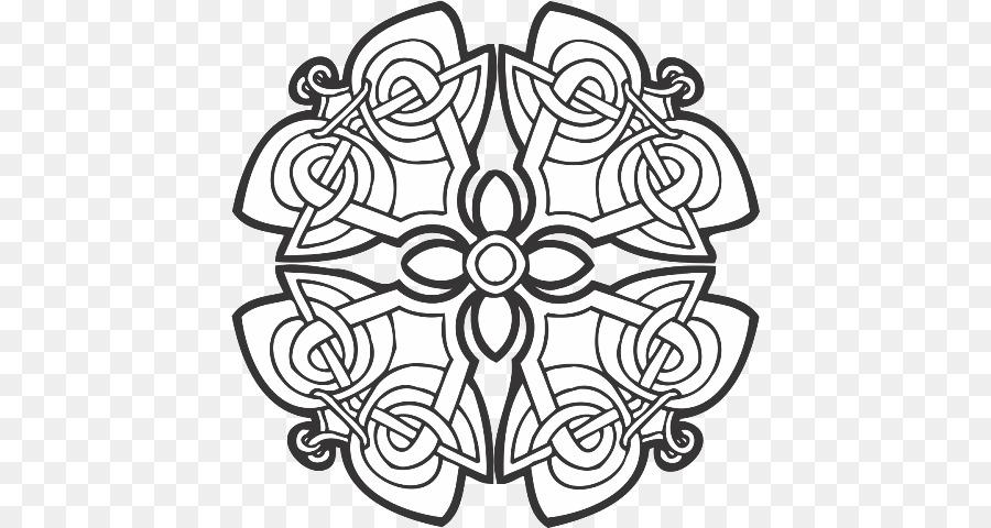 Nudo celta Celtas Adorno libro para Colorear Ogham - otros Formatos ...