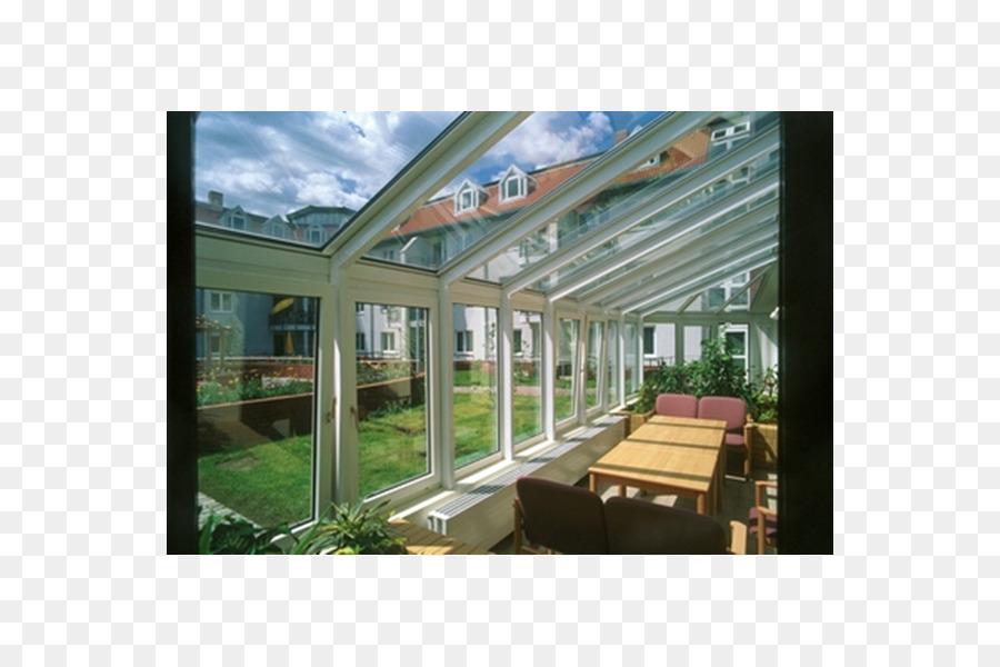 Fenster Terrasse Wintergarten Glas Baumaterialien Fenster Png