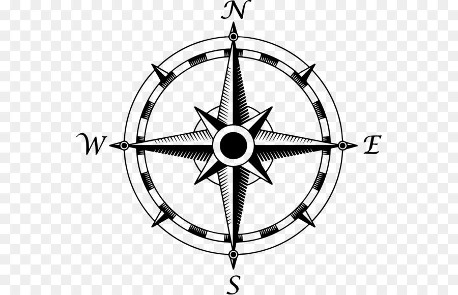 kompass karte North Compass Rose Clip Art   alte Kompass Karte Türkei png