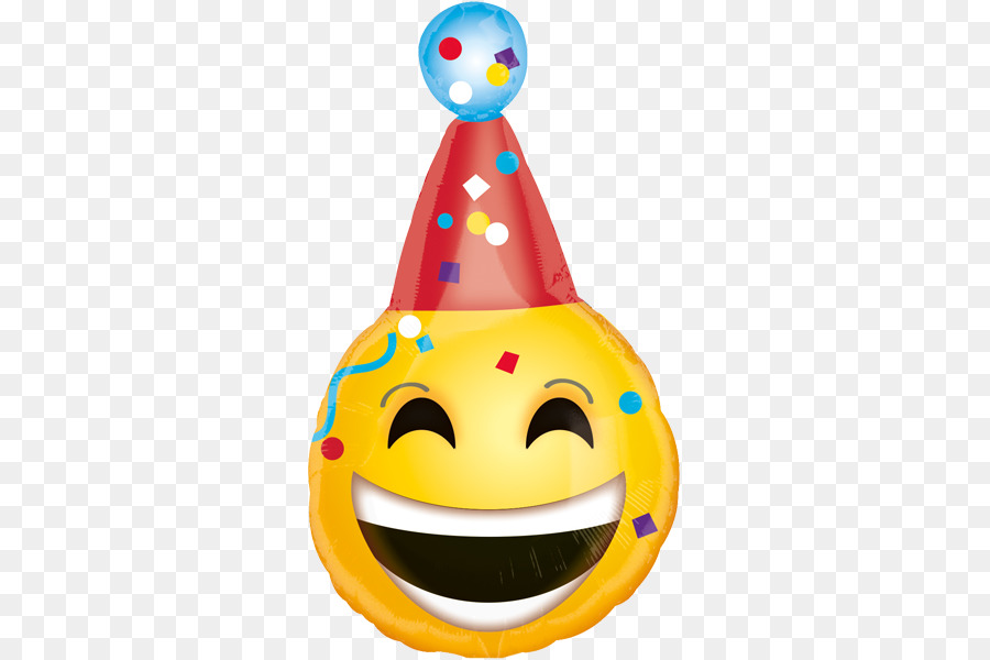 Ballon Party Hat Geburtstag Smiley Emoticon Ballon Png