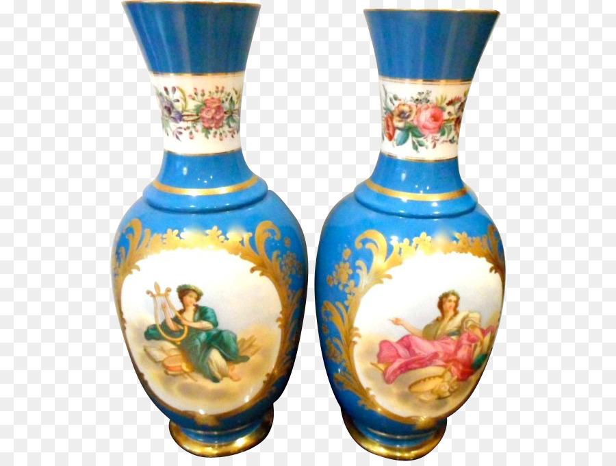 Vase French Porcelain Antique Limoges Porcelain Vase Png Download