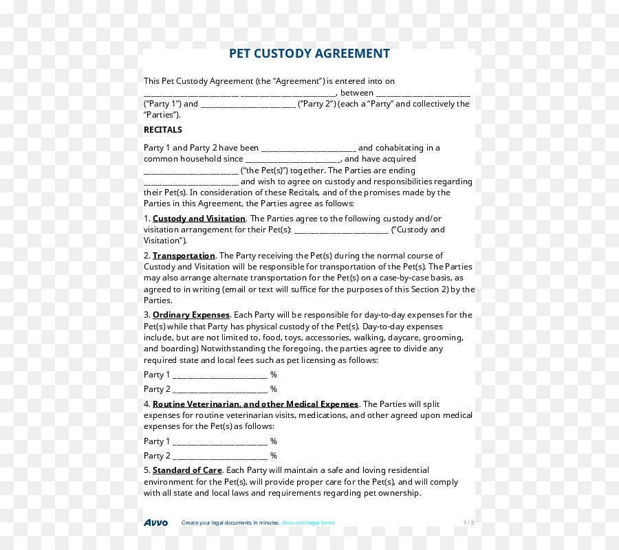 Child Custody Contract Joint Custody Postnuptial Agreement Parenting