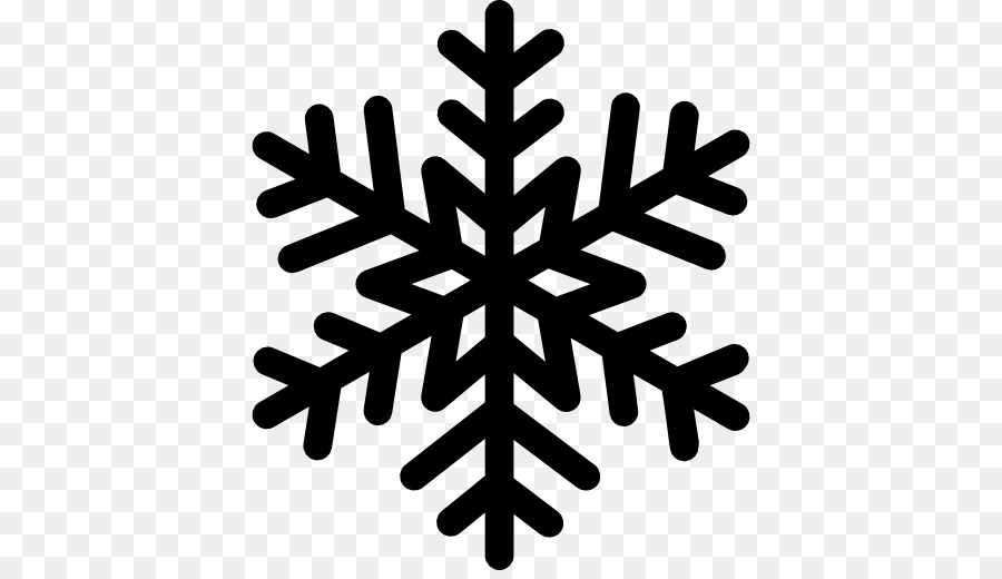Snowflake silhouette. Png download free transparent