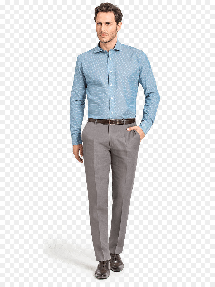 Dress Shirt Pants Clothing Polo Shirt Business Casual Png Download