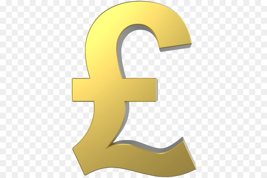 Pound Sign Pound Sterling Gold Euro Sign Gold Png Download 450