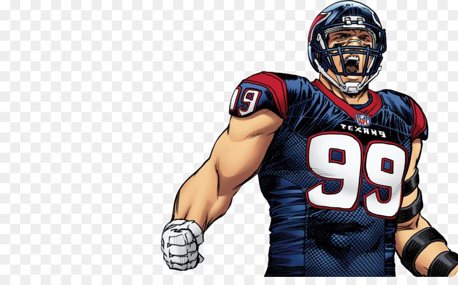 Fútbol americano de dibujos animados Comics campo de fútbol Jersey ...