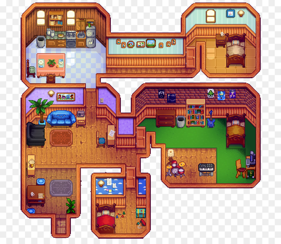 Stardew Valley Video Game House Interior Design Services   House Png ...