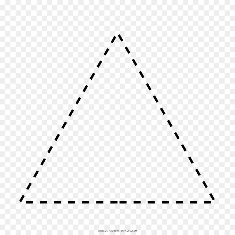 Triángulo libro para Colorear, Dibujo de Ausmalbild - triángulo png ...
