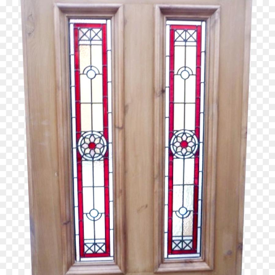 Stained Glass Edwardian Era Window Door Victorian Era Window Png