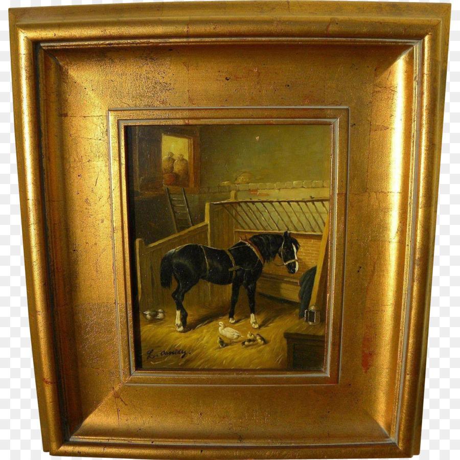 La pintura de la Imagen de Marcos de Madera Antiguo - pintura ...