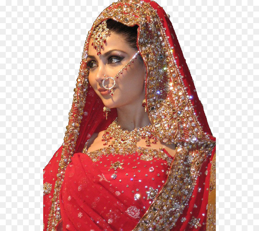 Indian wedding clothes Wedding dress Bride - India png download ...