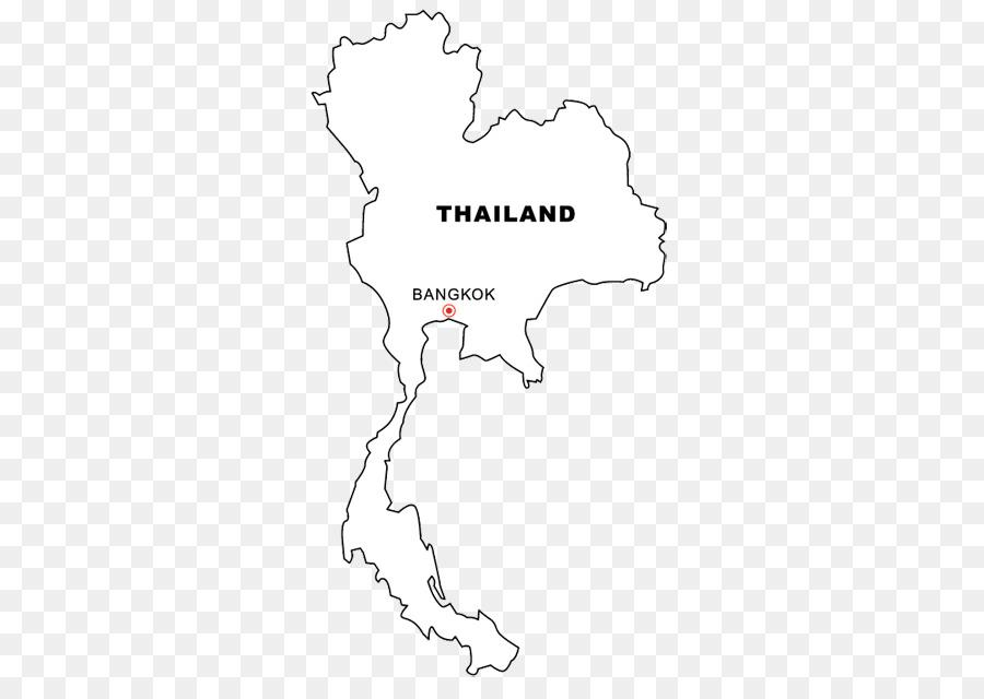 Thailand-Malbuch Leere Karte World Map - Anzeigen png herunterladen ...