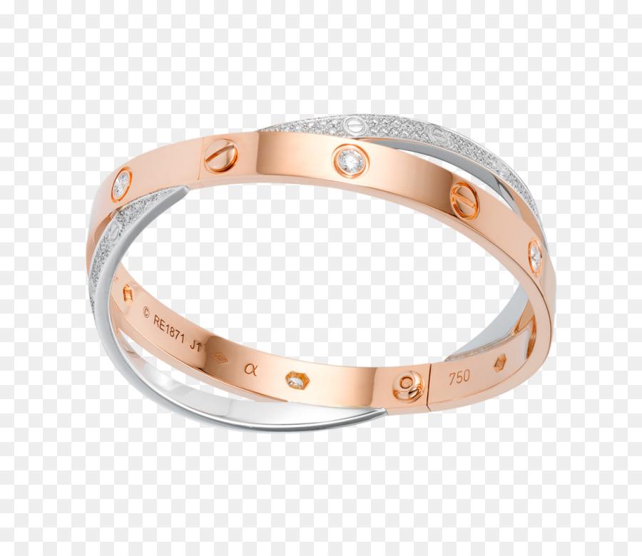 e8de333a1ff Amor pulseira Cartier Jóias de Ouro - Joalharia - Transparente ...