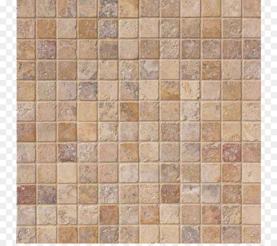 Tile Travertine Mosaic Stone Floor Stone Png Download 1120986