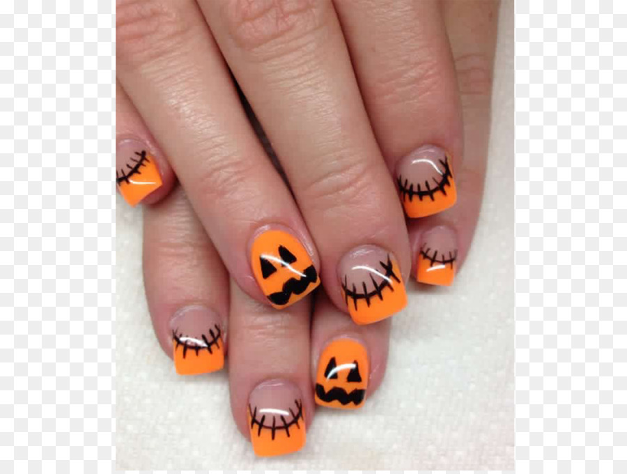 Nail art Gel nails Halloween - Nail - Nail Art Gel Nails Halloween - Nail Png Download - 1024*768 - Free