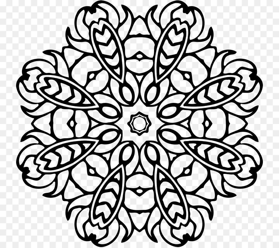 çizim Mandala Boyama Kitabı Okul Png Indir 798798 Serbest