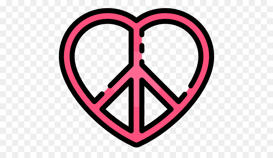 Peace Symbols Drawing Heart Symbol Png Download 512512 Free
