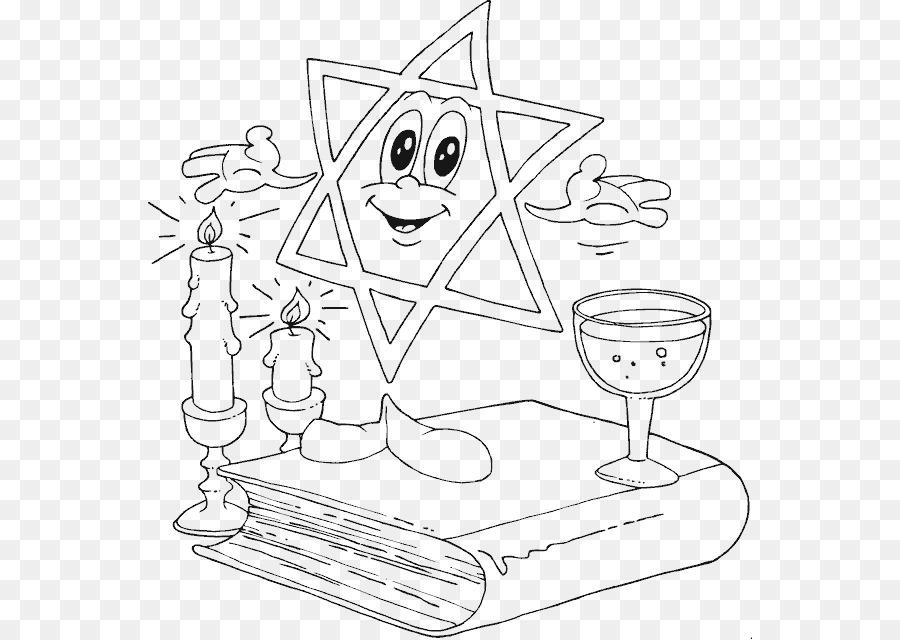 Plagas de Egipto para Colorear libro Seder de Pesaj Estrella de ...