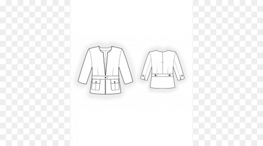 Nähen-Ohrring-Jacke Mantel-Muster - Jacke png herunterladen - 500 ...
