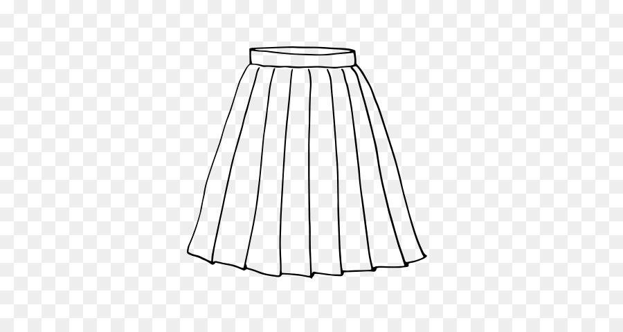Elbise Etek Boyama Kitabı Plise çizim Elbise Png Indir 600470