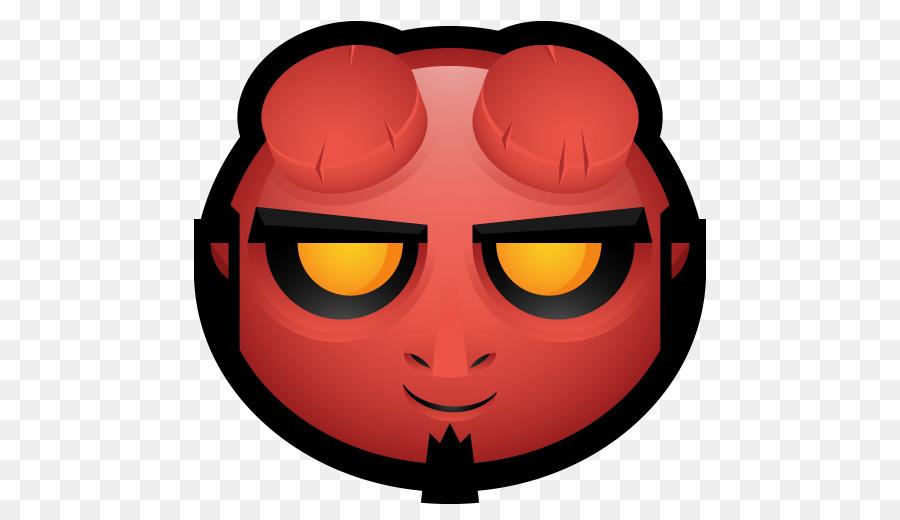 hellboy smiley computer icons avatar hellboy png download 512 rh kisspng com Hades Logo BPRD Logo