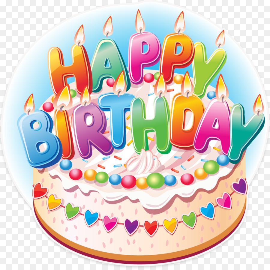 Birthday Cake Happy Birthday To You Wish Clip Art