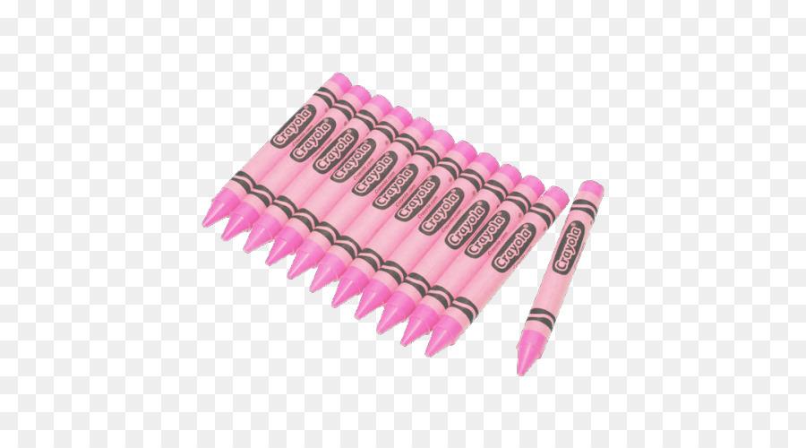 Crayola Crayon Rosa Pastel Dibujo - otros Formatos De Archivo De ...
