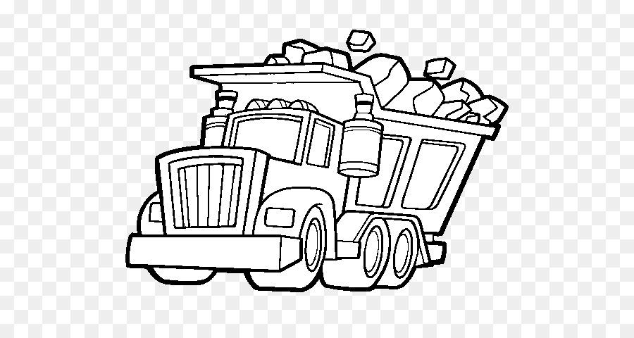 Car Dump Truck Drawing Kenworth