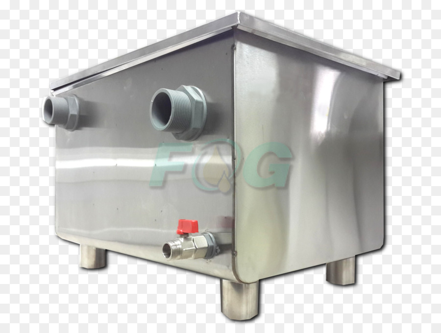 Grease trap kitchen sink Stainless steel - sink png download - 1600 ...