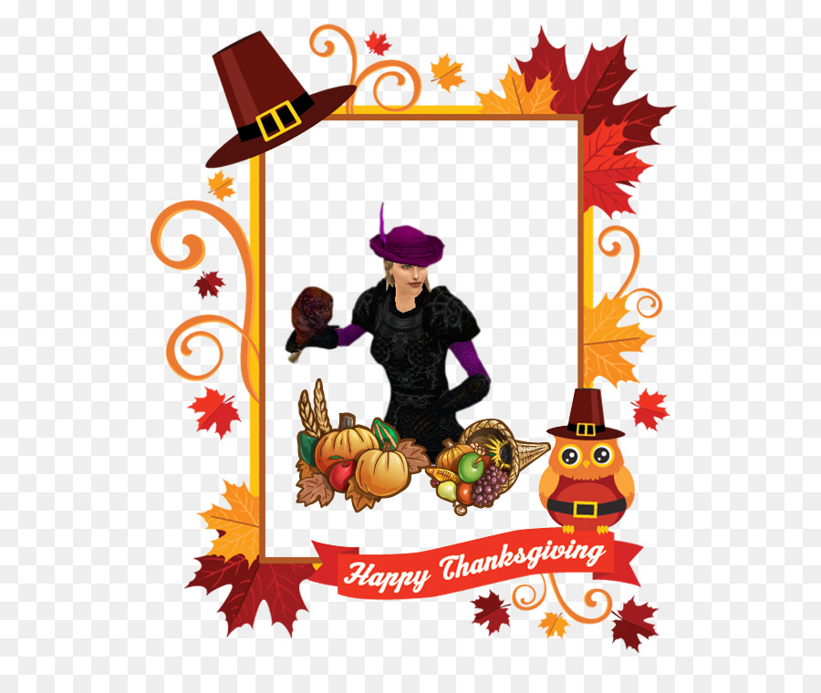 Thanksgiving Picture Frames Clip Art Thanksgiving Png Download