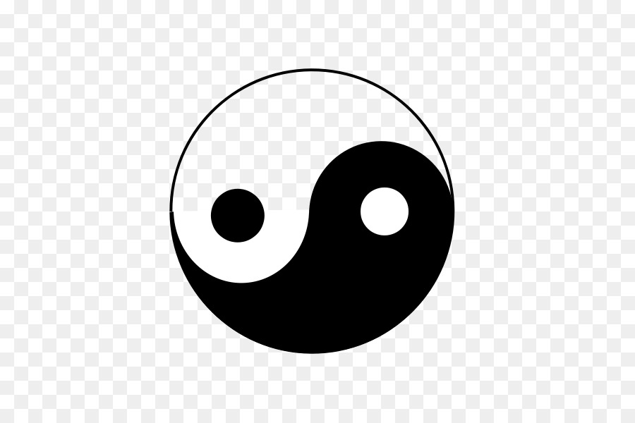 Yin And Yang Sign Symbol Meaning Symbol Png Download 600600