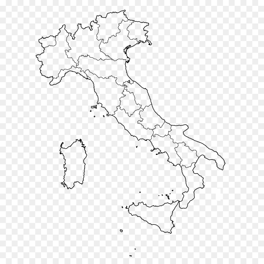 Regions Of Italy Blank Map City Map Map Png Download 720 900