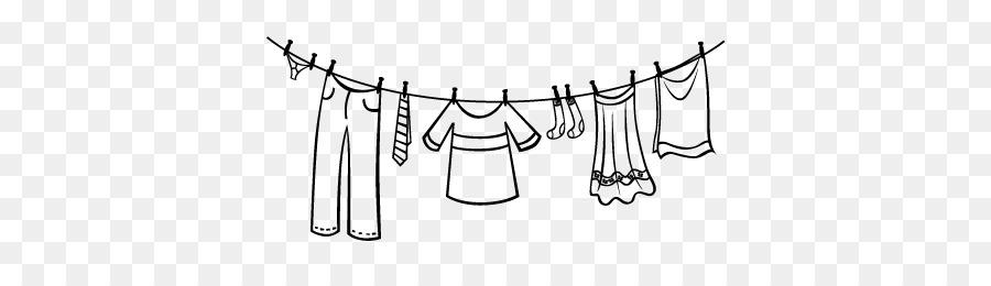 Linea Di Vestiti Di Lavanderia Libro Da Colorare Molletta Altri