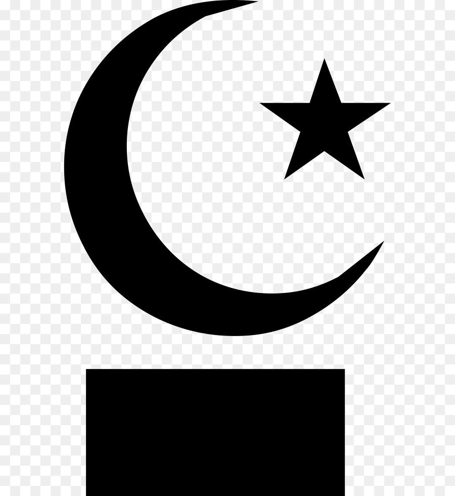 Star And Crescent Moon Symbols Of Islam Clip Art Moon Png Download