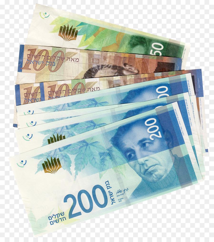 Israeli New Shekel Currency Symbol Banknote Banknote Png Download