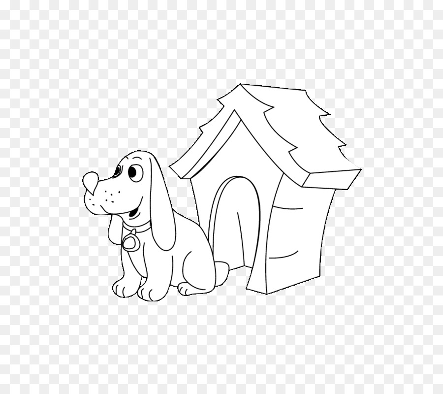 Non-sporting group Dog Houses Snoopy Black and white - Dog Kennel ...