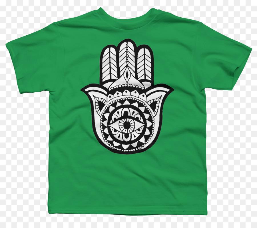 26b8fee0 T-shirt Hoodie Hamsa Amulet Jewellery - T-shirt png download - 1800*1575 -  Free Transparent Tshirt png Download.