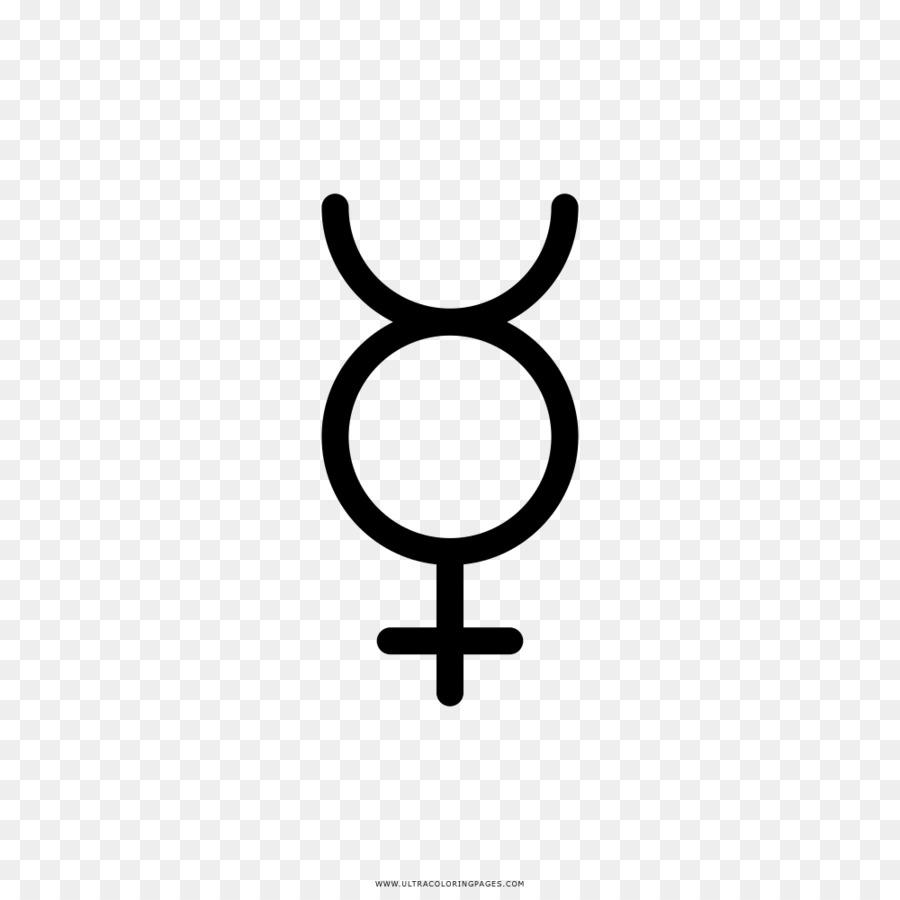Mercurio elemento Químico de símbolo Alquímico del Planeta símbolos ...