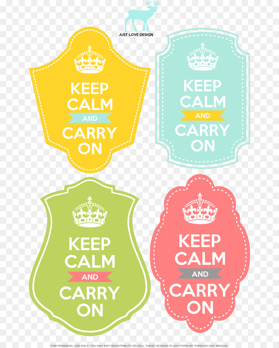 Keep Calm and Carry On T-shirt Poster Printing - T-shirt 714*1116 ...