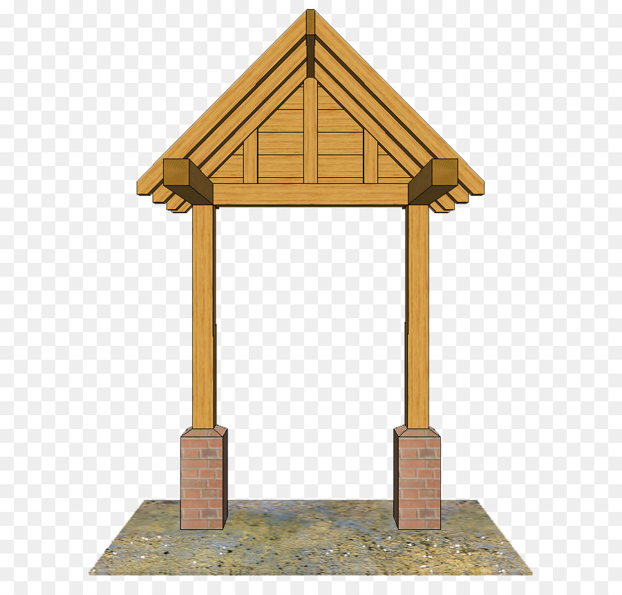 Porch Roof Shed Wall - design png download - 672*850 - Free ...