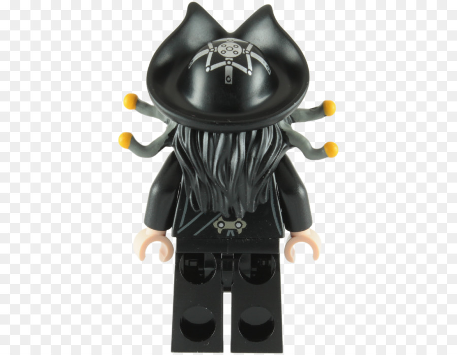 Edward Teach Davy Jones Figurine Lego Pirates Lego Minifigure