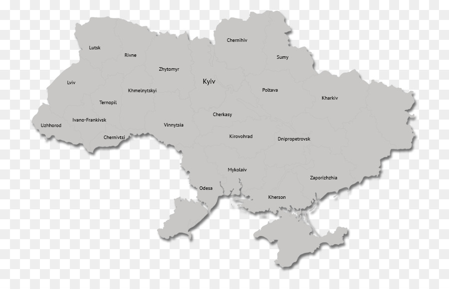 Ukraine Map Autonomous Republic Of Crimea World Map Png Download