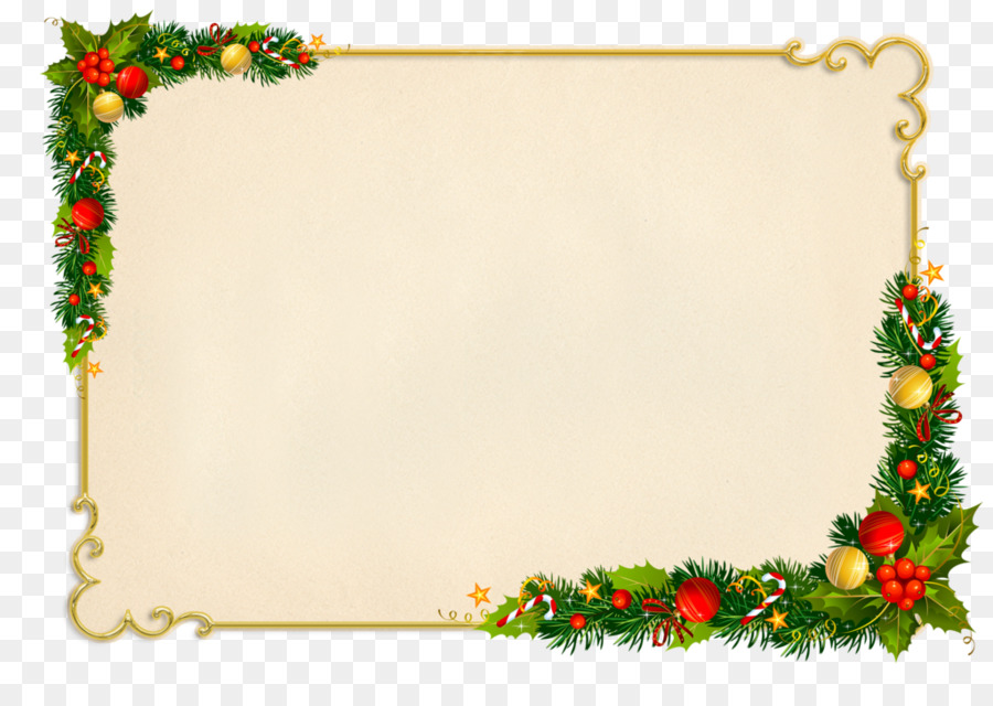 Christmas gift Picture Frames Holiday - christmas png download ...