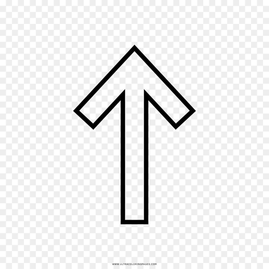 Dibujo de Flecha libro para Colorear Símbolo - Flecha Formatos De ...