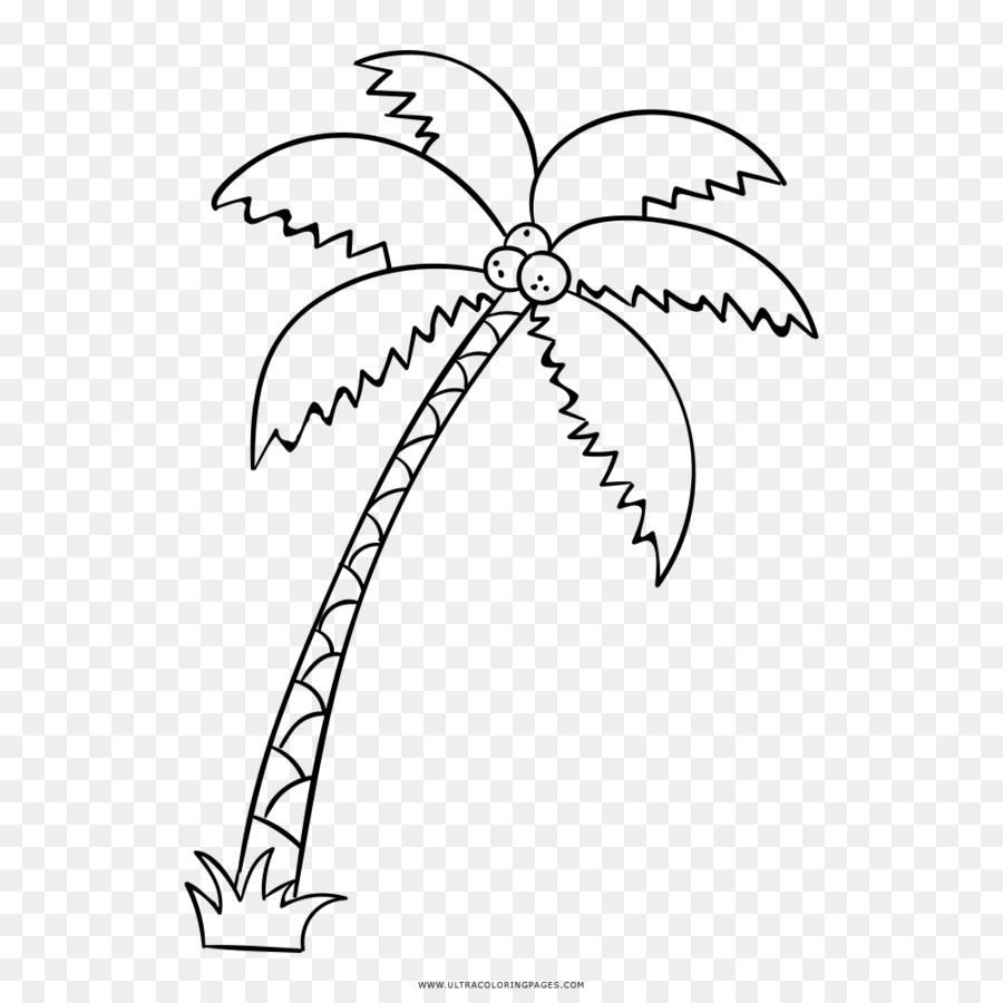 Realmente Grandes Libros Para Colorear Dibujo Arecaceae - los ...